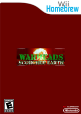 WarHeads: Scorched Earth Homebrew cover (D3WA)