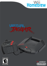 Wii Virtual Jaguar Homebrew cover (D43A)