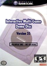 Interactive Multi-Game Demo Disc - Version 35 GameCube cover (D56E01)