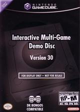Interactive Multi-Game Demo Disc - Version 30 GameCube cover (D63E01)