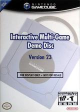 Interactive Multi-Game Demo Disc - Version 23 GameCube cover (D72E01)