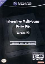 Interactive Multi-Game Demo Disc - Version 20 GameCube cover (D75E01)