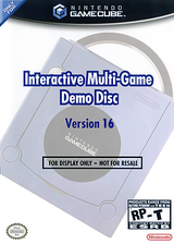 Interactive Multi-Game Demo Disc - Version 16 GameCube cover (D79E01)