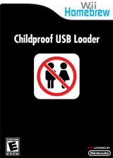 Childproof USB Loader Homebrew cover (D7SA)