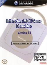 Interactive Multi-Game Demo Disc - Version 14 GameCube cover (D83E01)
