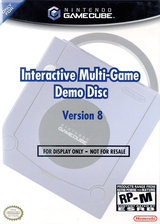 Interactive Multi-Game Demo Disc - Version 8 GameCube cover (D92E01)