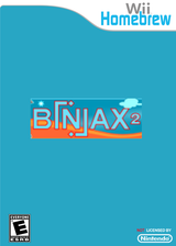Biniax 2 Homebrew cover (DBXA)