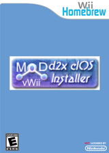 d2x cIOS Installer Homebrew cover (DDCA)