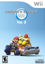 Darky Kart Wii Vol. 2 CUSTOM cover (DKWE02)