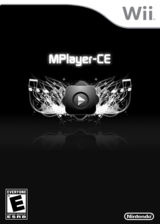 MPlayer CE Homebrew cover (DMPA)