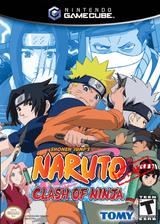 Naruto Clash of Ninja 2 (Demo) GameCube cover (DNUEDA)