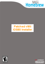 Patched IOS 80 Installer for vWii Homebrew cover (DPIA)