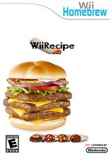 Wiirecipe Homebrew cover (DREA)