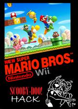 New Super Mario Bros. Wii Scooby-Doo! Hack CUSTOM cover (DUDE01)