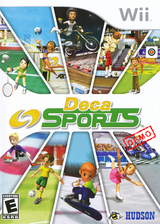 Deca Sports (Demo) Wii cover (DXSE18)