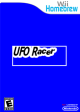 UFO Racer Homebrew cover (DYUA)