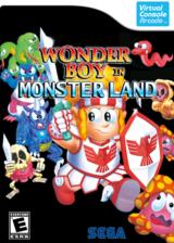 Wonder Boy in Monster Land VC-Arcade cover (E5WE)