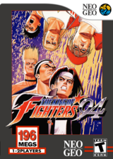 The King of Fighters '94 VC-NEOGEO cover (EAGE)