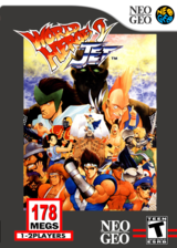 World Heroes 2 Jet VC-NEOGEO cover (EATE)