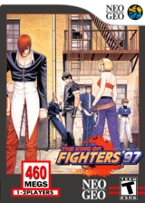 The King of Fighters '97 VC-NEOGEO cover (EBGE)
