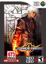 The King of Fighters '99 VC-NEOGEO cover (ECJE)