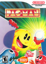 Pac-Man VC-NES cover (FAXE)