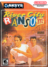 River City Ransom VC-NES cover (FDVE)