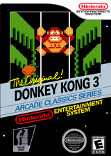 Donkey Kong 3 VC-NES cover (FEUE)