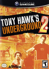 Tony Hawk's Underground 2 GameCube cover (G2TE52)