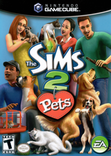 The Sims 2:Pets GameCube cover (G4OE69)
