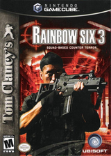 Tom Clancy's Rainbow Six 3 GameCube cover (G63E41)