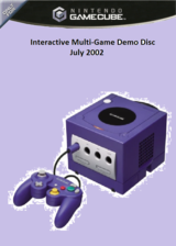 Interactive Multi-Game Demo Disc - July 2002 GameCube cover (G95E01)