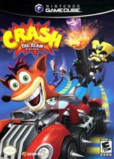 Crash Tag Team Racing GameCube cover (G9RE7D)