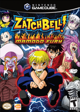 Zatch Bell! Mamodo Fury GameCube cover (GABEAF)