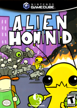 Alien Hominid GameCube cover (GAHEGG)