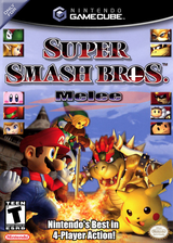 Super Smash Bros. Melee GameCube cover (GALE01)