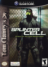 Tom Clancy's Splinter Cell GameCube cover (GCEE41)