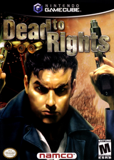 Dead to Rights GameCube cover (GDREAF)