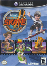 Disney's Extreme Skate Adventure GameCube cover (GEXE52)