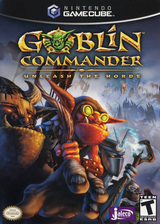 Goblin Commander: Unleash The Horde GameCube cover (GGCE0A)