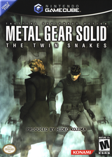 Metal Gear Solid: The Twin Snakes GameCube cover (GGSEA4)