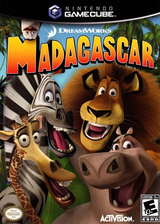 Madagascar GameCube cover (GGZE52)