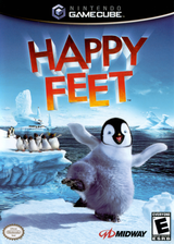 Happy Feet GameCube cover (GH7E5D)