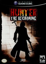 Hunter: The Reckoning GameCube cover (GHNE71)