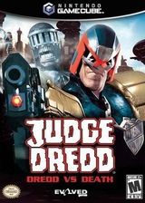 Judge Dredd: Dredd vs. Death GameCube cover (GJDE5S)