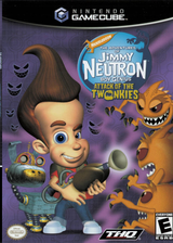 Jimmy Neutron:Attack of the Twonkies GameCube cover (GJYE78)