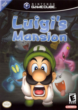 Luigi's Mansion GameCube cover (GLME01)