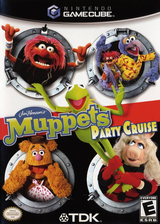 Muppets Party Cruise GameCube cover (GM9E6S)
