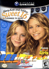 Mary-Kate and Ashley: Sweet 16 Licensed to Drive GameCube cover (GMAE51)