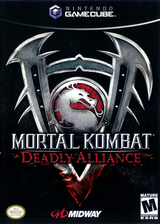 Mortal Kombat: Deadly Alliance GameCube cover (GMKE5D)